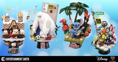 Magic Is at Your Disposal with These Disney Beast Kingdom Statues