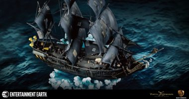 Sail the Seven Seas With this Exquisite Pirates of the Caribbean Black Pearl Statue