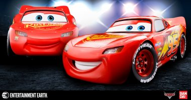 Start Your Engines! The Lightning McQueen Chogokin Die-Cast Vehicle Is Here