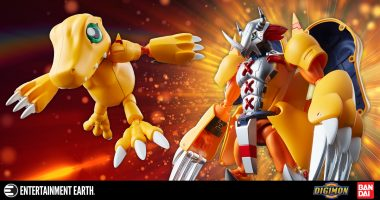 Digivolve with This Digimon Agumon Action Figure