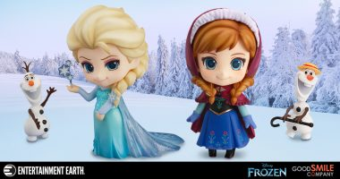 These Frozen Nendoroid Figures Will Melt Your Heart