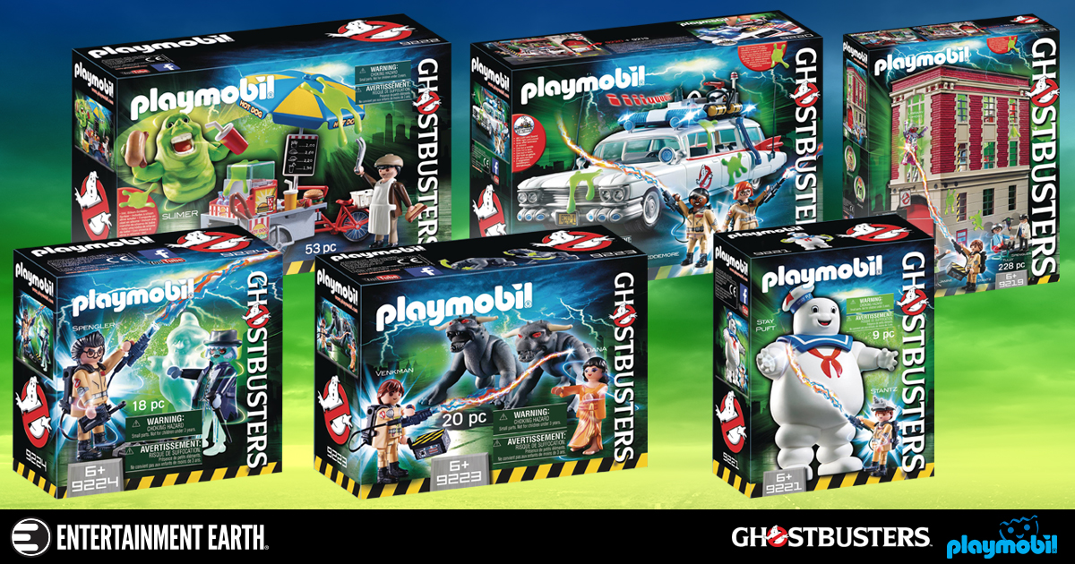 ghostbusters playmobil toys are ready to believe you. Black Bedroom Furniture Sets. Home Design Ideas