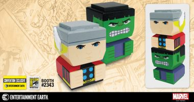 Two Marvel Heroes Unite in this Convention Exclusive Tiki Tiki Totem Set!