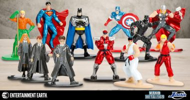 Die-Cast Metal Mini-Figure Collectors, Rejoice! There's a Case of Nano Metalfigs for Everyone!