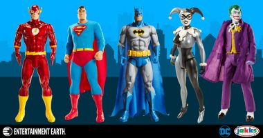 Jakks Pacific's Tribute to Silver-Age DC Comics