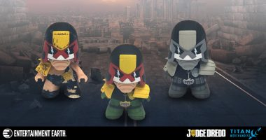 Get on the Right Side of the Law with These Judge Dredd Vinyl Figures