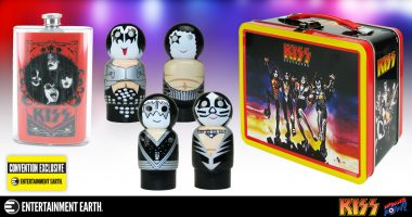 KISS Destroyer Tin Tote Gift Set Rocks San Diego Comic-Con