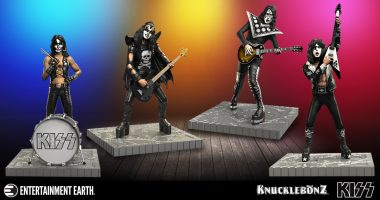 These KISS Statues are Hotter Than Hell!