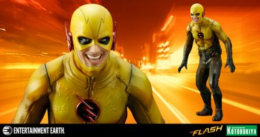Reverse Flash Is a Menace in Yellow as This New Art FX+ Statue