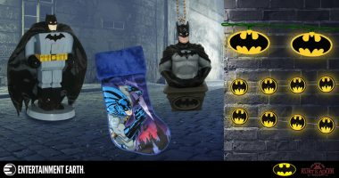 Fans of The Caped Crusader Will Love These Kurt S. Adler Batman Collectibles