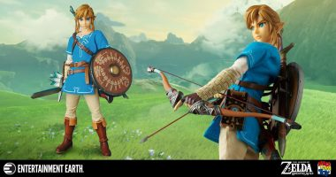 It's Dangerous to Go Alone: Take This Incredible Link Action Figure!