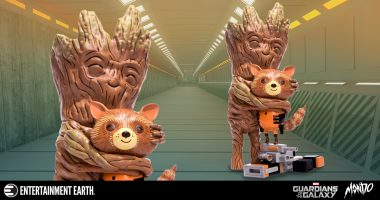 Rocket Raccoon's a Real Treehugger with This Super Cute Mike Mitchell Figure