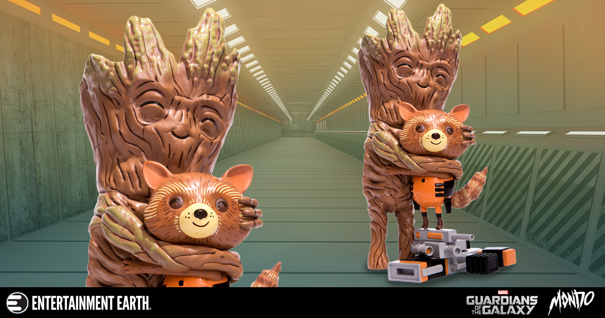 Mike Mitchell GOTG Treehugger Figure