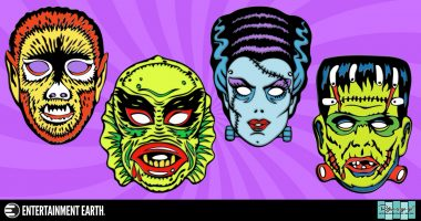 Add Some Ghoulish Flair to Your Jacket with These Ben Cooper Pins