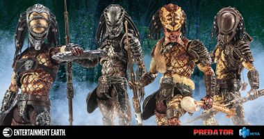 First Hiya Toys Predator 2 Action Figures Available for Pre-Order