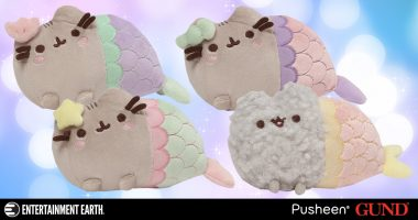 Mythical Kitties: Pusheen Mermaids and a Special Stormy Surprise