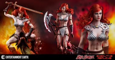 Red Sonja Bares Her Scars in This Amazing Action Figure