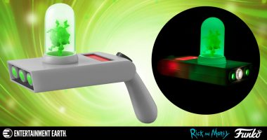 Time To Get Schwifty with This Rick and Morty Portal Gun!