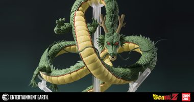 Summon Your Very Own Shenron with This SH Figuarts Figure