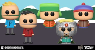 Come on down and Leave Your Woes behind with These South Park Pop! Figures