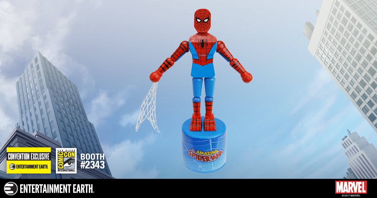 Convention Exclusive Spider-Man Push Puppet