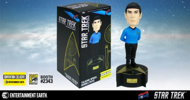 Live Long and Prosper! Star Trek Talking Spock Bobble Head – Convention Exclusive