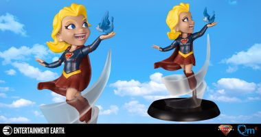 Up, Up and Away with This Supergirl Q-Fig PVC Figure
