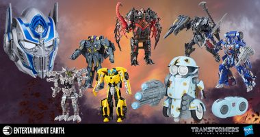 Get the Coolest Transformers: The Last Knight Collectibles Swag