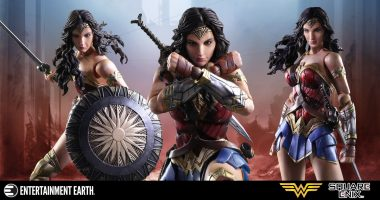 Blockbuster Superhero Wonder Woman Is Now a Play Arts Kai Action Figure
