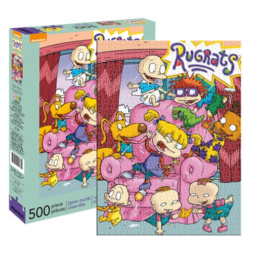 Rugrats Dog Life: '90s Cartoon Puzzles