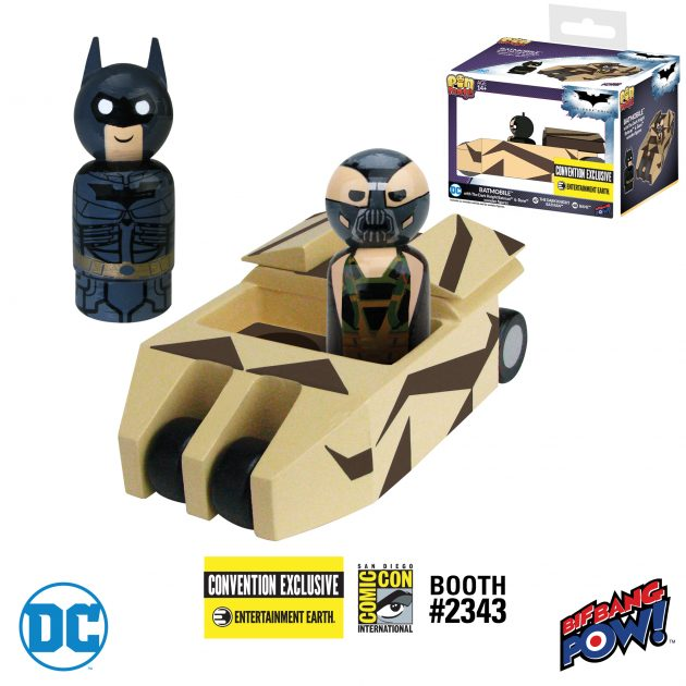 Batmobile Pin Mate Exclusive Set