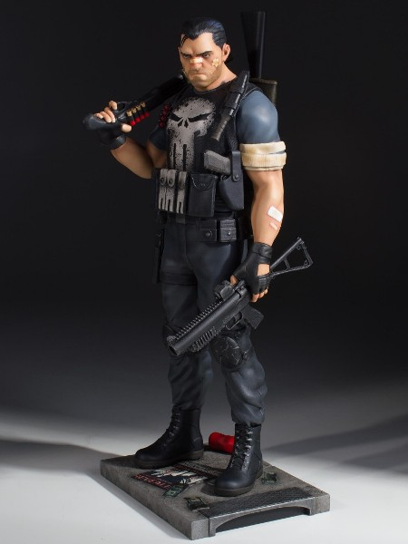 Gentle Giant Marvel Punisher Collectors Gallery Statue 5