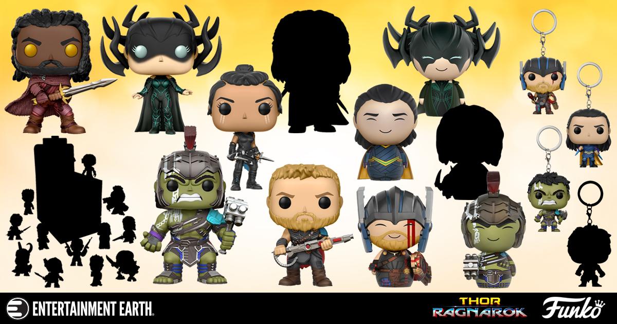 SPOILERS: Thor: Ragnarok Funko Collectibles Reveal Major