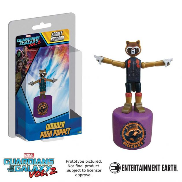 Rocket Raccoon Push Puppet