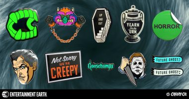 These Creepy Co. Pop Culture Enamel Pins Are to DIE For