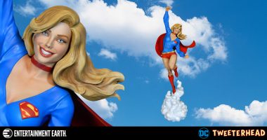 Supergirl Lifts off as This Super-Powered Maquette