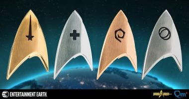 A Closer Look at the New Star Trek: Discovery Insignia Badges