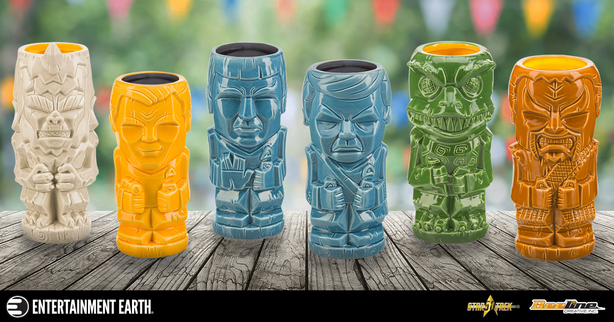 Star Trek Geeki Tiki Mugs Are Perfect For Out Of This