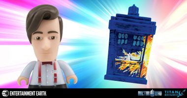 New Exclusive Titans Doctor Who Figures Will Make You Remember the Madman with a Box