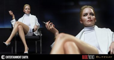 The Most Memorable Scene from Basic Instinct Is Preserved in This Statue