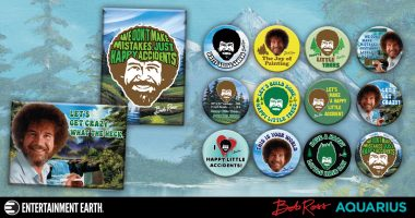 Add Some Happy Little Bob Ross Flair to Your Life