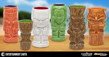Be the Hero of Any Galactic-Sized Party with These GOTG Geeki Tiki Mugs