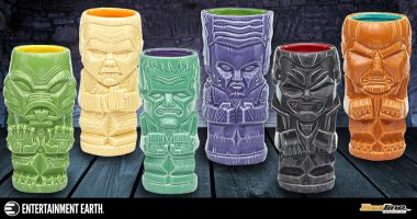 These Monster Geeki Tiki Mugs Are a Graveyard Smash