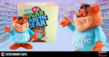The Newest Ron English Vinyl Figure is Sickly Sweet