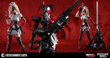 Play Arts Kai Captures Harley Quinn in All Her Glory