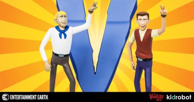 Become Part of Team Venture with This Vinyl Figure 2-Pack