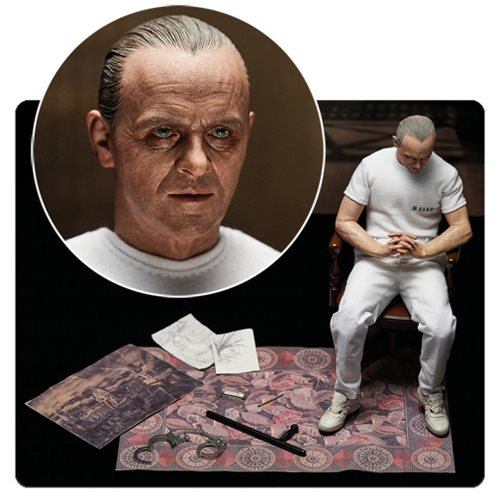 New Action Figures So Detailed Even Hannibal Lecter Would