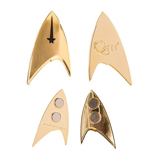 Star Trek Discovery Command Insignia Badge
