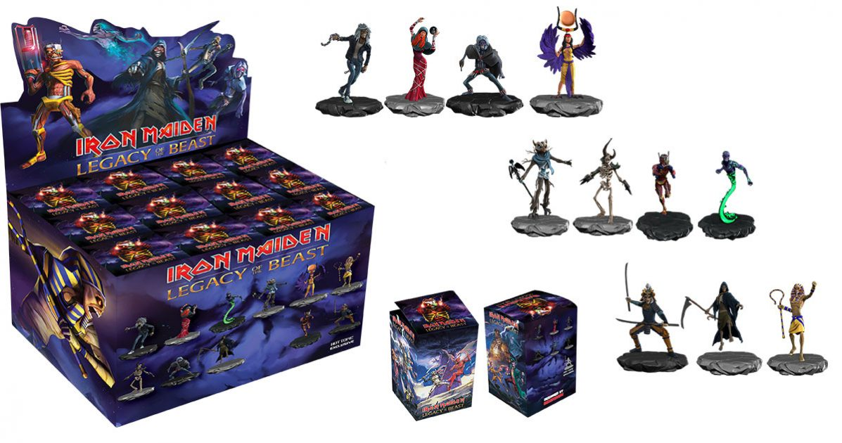 Breaking Iron Maiden Legacy Of The Beast Collectibles