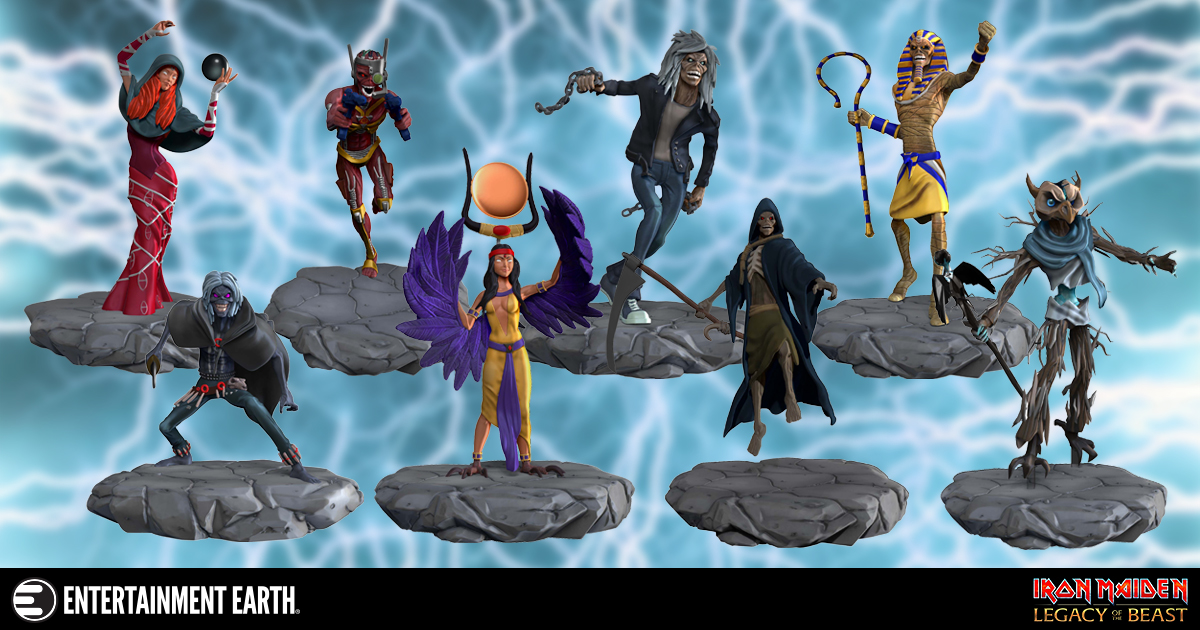 Be Part Of The Legacy These Blind Box Figures Will Rock